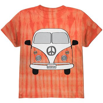 Halloween Travel Bus Costume Camper Adventure Youth T Shirt