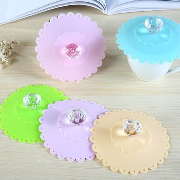 Silicone Lids Suction Food Saver Covers Silicone Cover Lids Fresh Cover Suction Lids for Pans Bowls Cups Containers