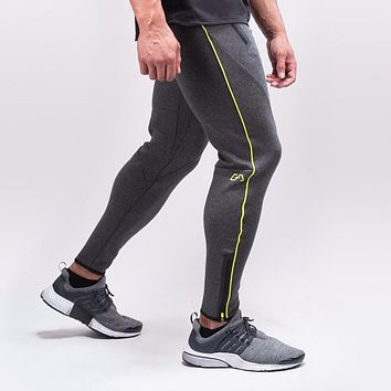 2017 High Quality Mens Jogger Pants Zipper Autumn Sweat Pants Trousers Fitness Bodybuilding Gyms Pants For Runners  Clothes