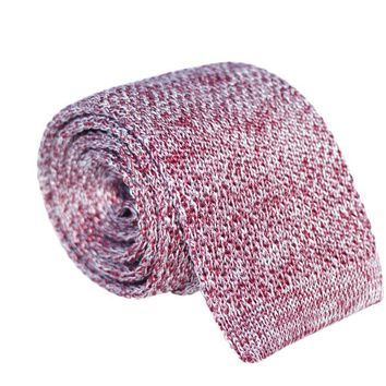 Stellar Knitted Squared-Bottom Neck Tie