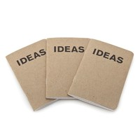 Poketo Ideas Book - 3 pack