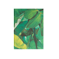 A5 Tropical Fabric Covered Notebook