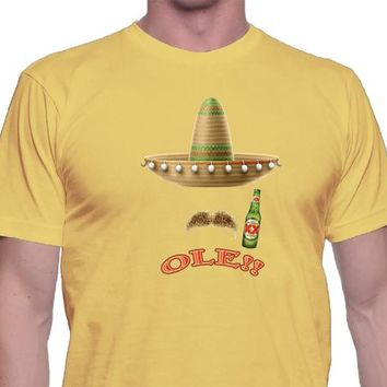 c7910b22 Ole Shirt, Unisex Style, Beer Shirt, Mexico, Mexican Shirt, Cinc