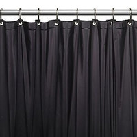 "Royal Bath Extra Wide 5 Gauge Vinyl Shower Curtain Liner 72"" Wide x 84"" Long"