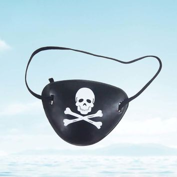 6Pcs Hot Pirate Eye Patch Halloween Props Pirate Accessories