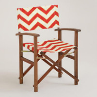 Chevron Bali Club Chair Canvas | World Market