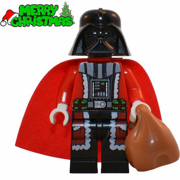 Single Sale Darth Vader Christmas Advent Calendar STAR WARS TMNT Minifigures DIY Assemble Building Blocks Kids Xmas Toys Gift