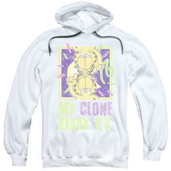 Garfield - My Clone Did It Adult Pull Over Hoodie