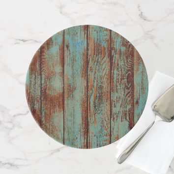 COUNTRY RUSTIC WOOD WEDDING CAKE STAND