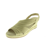 Naturalizer Womens Banna Pleated Wedge Espadrilles