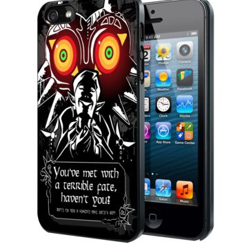 majora mask legend of zelda Samsung Galaxy S3 S4 S5 S6 S6 Edge (Mini) Note 2 4 , LG G2 G3, HTC One X S M7 M8 M9 ,Sony Experia Z1 Z2 Case