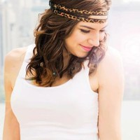 Black Head Bands - Bailey | UsTrendy