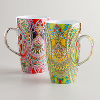 Venice Mugs, Set of 2 | World Market