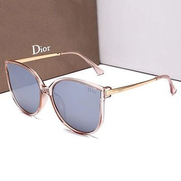 Dior Women Casual Fashion Shades Eyeglasses Glasses Sunglasses