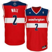 ONETOW Washington Wizards John Wall #2 jerseys
