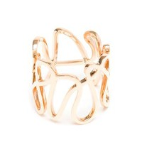 REPOSSI | 18-Karat Rose Gold White Noise Ring | brownsfashion.com | The Finest Edit of Luxury Fashion | Clothes, Shoes, Bags and Accessories for Men & Women