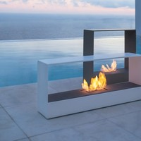 Bioethanol fireplace LLAR by GANDIA BLASCO | design Borja Garcia Studio