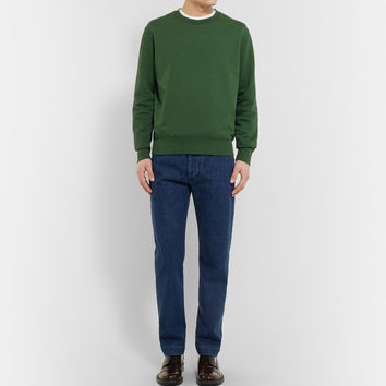 Acne Studios - Casey Loopback Cotton-Blend Sweatshirt | MR PORTER