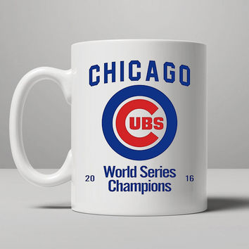 Chicago Cubs (World Series Edition) Coffee Mug