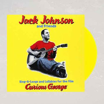 Jack Johnson And Friends - Sing-A-Longs And Lullabies For The Film Curious George LP