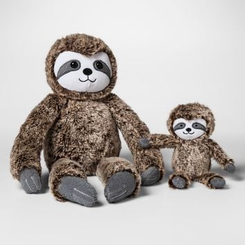 Plush with Rattle Sloth - Cloud Island™ Brown