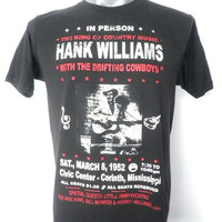 HANK WILLIAMS  King Of Country Music in Civic Center by 99rockshop
