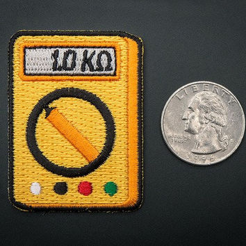 Multi-Meter! - Skill badge, iron-on patch