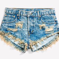 Keepers Wild West Acid Babe Cut Off Shorts