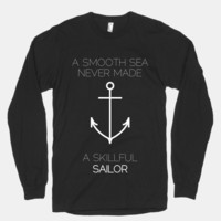 Smooth Sea (longsleeve) | HUMAN