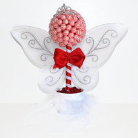 Lollipop Candy Sugar Plum Fairy Topiary