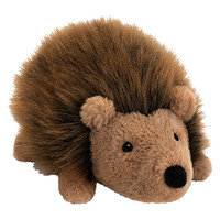 Buy John Lewis Buster the Boxer Hallie the Hedgehog Plush Soft Toy, Brown, H18cm | John Lewis