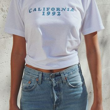 California 1992 Tee - White
