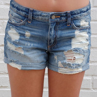 Dirt Road Denim Shorts