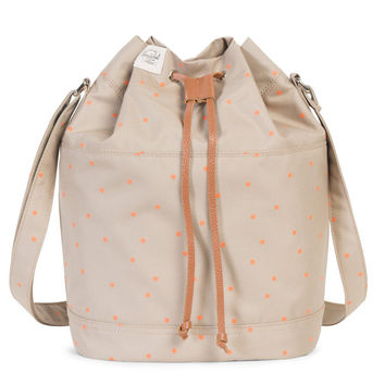 Carlow Crossbody in Khaki with Nectarine Scatter by Herschel Supply Co.