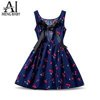 New Designs Kids Clothes Toddler Girl Sundress Floral Kids Casual Dresses For Baby Girls Party Wear Children Costume