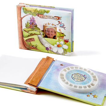 BABY TOOTH ALBUM MEMORY BOOK KIT, PINK