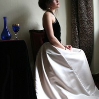Silky Diva skirt by MagpiesShop on Etsy
