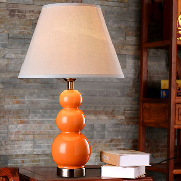 American country ceramic table lamp bedroom bedside lamp modern minimalist fashion creative European pastoral decorative lamp