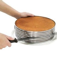 Piece of Cake Layer Slicing Kit | create perfect layers  Kitchen Krafts