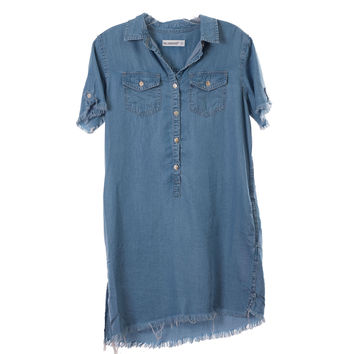 Blank NYC Womens Jean Dress