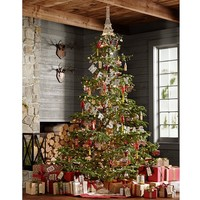 German Glitter Merry Christmas Garland | Pottery Barn