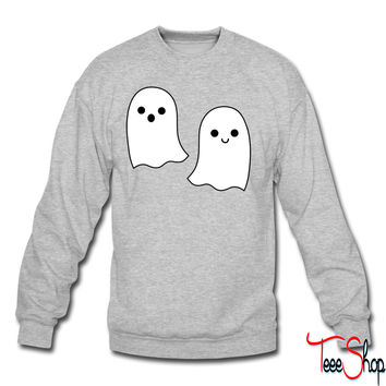 Cute halloween ghosts crewneck sweatshirt