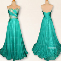 Green prom dresses, green prom dress, dresses for prom, prom dresses 2014, best prom dresses,  cheap bridesmaid dresses, RE418