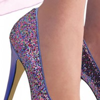 In Stock - Sizzle Rainbow Shoes - $70