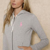 PINK PONY HOODED JACKET