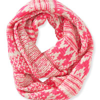 Aeropostale  Fair Isle Striped Infinity Scarf