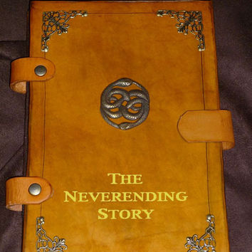 Neverending Story eReader Cover by GrimcatProductions on Etsy