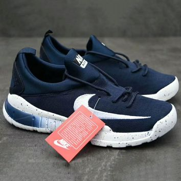Nike Stefan Janoski Max  Fashion Running Sport Sneakers Shoes Navy blue G-XYXY-FTQ