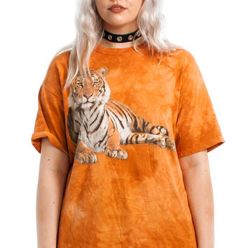 Not-Quite-Vintage Eye of the Tiger Tee - One Size Fits Many