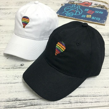 Cute Colorful Balloon Embroidered Baseball Hat Hat